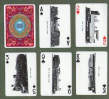 Collectable vintage South African Railway  playing cards. Blue Train,